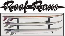 Reef Raxs Surfboard Racks Board Storage Wall Mount Metal Racks