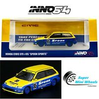 "INNO64 Honda Civic EF9 #95 ""Spoon Sports"" 1:64"