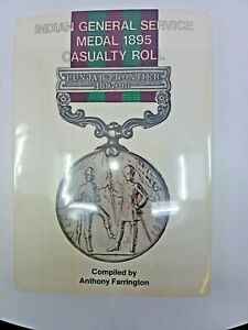 British Napoleonic War Indian General Service Medal Casualty Roll Reference Book