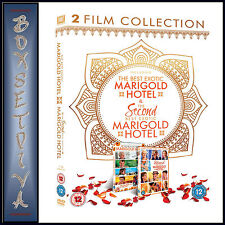 THE BEST EXOTIC MARIGOLD HOTEL 1 & 2 - 2 FILM COLLECTION **BRAND NEW DVD***