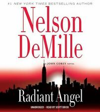 """A John Corey Novel: Radiant Angel by Nelson DeMille (2016, CD) """"A chilling read"""""""