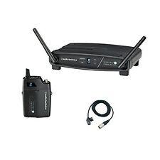 Audio-Technica ATW-1101/L System 10 Digital Wireless Lavalier Microphone Set NEW