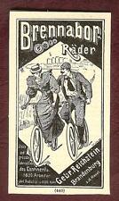Brennabor-Werke Gebr. Reichstein, Fahrräder, Brandenburg a.d.Havel, 1895