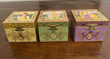 DISNEY PARKS EXCLUSIVE  Lot Of 3  Princess MUSICAL JEWELRY BOX