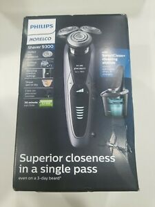 PHILLIPS NORELCO 9300 ELECTRIC SHAVER SMART CLEAN SYSTEM FACTORY NEW SEALED