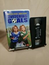 Switching Goals VHS Mary-Kate and Ashley Olsen Soccer Movie