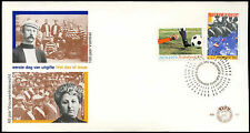 Netherlands 1979 Football, Womens Suffrage Anniv FDC First Day Cover #C27672