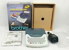 Brother Pt 2200 Electronic Labeling System With Power Adapter