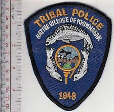 American Indian Tribe Police Alaska Native Village Kwinhagak River Ranger d blue