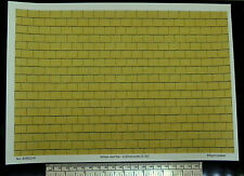1/32nd scale (1:32) yellow roof tile paper - A4 sheet (297 x 210 mm)