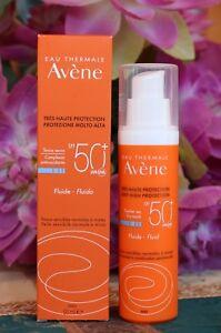 Avène Sun Care Fluid SPF 50+ For Sensitive Skin 50ml.