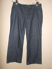 "Liz Claiborne ""Jackie"" Womens Size 12 Denim Blue Jeans Wide Leg"