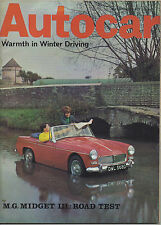 February Autocar Weekly Magazines