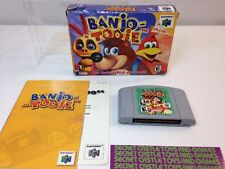 BANJO TOOIE Complete W/ Box & Manual - N64 - Nintendo 64- Clean Tested  !!!