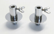 "Vintage MIJ 5/16"" BASS DRUM SPUR BRACKET MOUNTS (Pearl/President/Stencil/1960's)"