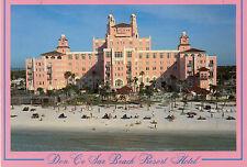 postcard   USA Florida  Don De Sar  Beach  Resort Hotel  unposted