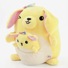 New ListingSquishmallows for Justice Golden Retriever Dog Merry+Baby Mini Pocket Plush New