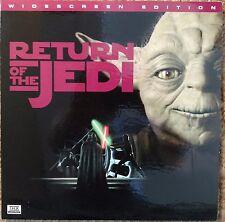 RETURN OF THE JEDI STAR WARS THX.Laserdisc Gatefold LD