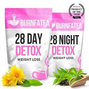 BURNFATEA 28 DAY DETOX TEA KIT - WEIGHT LOSS, DIET SLIMMING TEA, BURN FAT TEA