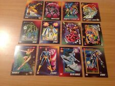 12 MARVEL 1992 IMPEL CARDS  SUPERHEROES ETC