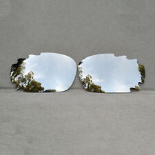 Silver Titanium Mirrored Replacement Lenses for-Oakley Jawbone Vented Polarized