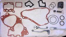 Genuine Suzuki RM85 Service Kit (Piston,Gaskets,Brake Lever,Clutch Lever) + More