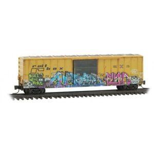 Z Scale Micro-Trains MTL 51045224 RBOX Railbox Box Car #33392 Graffiti Series 12