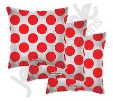 "3 pc - 18"" Polka Dot Red Square Balloon Wedding Baby Shower Happy Birthday Boy"
