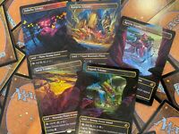 MTG Triome Borderless FOIL Land REPACK Zagoth Savai Ketria PLEASE READ REPACK