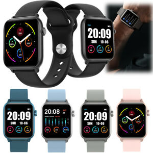 Men Women Smart Watch Heart Rate Sport for iPhone Huawei Samsung S20 S10 S9 S8 +