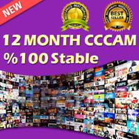 Cccam ¤¤EUROPE¤¤ VIP  12 MONTH PREMIUM ALL
