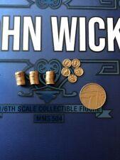 Hot Toys John Wick capítulo 2 MMS504 moneda fijada Suelto Escala 1/6th