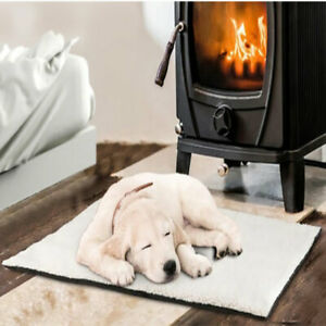 Self Heating Dog Cat Pet Bed Thermal Washable No Electric Blanket Required
