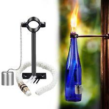 Lanmu Wine Bottle Tiki Torch,Bottle Torch,Diy Home Decor Kit,Tiki Bar