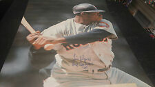 "Vintage Houston Astros 24""x36"" 1968 Poster Jim Wynn Signed Toy Cannon COA"