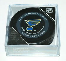 ST. LOUIS BLUES Home of the 2020 NHL All Star Game 2019-2020 OFFICIAL GAME PUCK