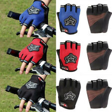 Antiskid Racing Cycling Sports Glove Outdoor Bicycle Mountain Half Finger Gloves