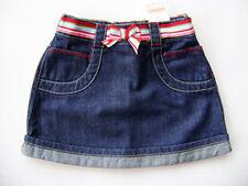 GYMBOREE Burst of Spring Cotton Denim Skirt Belted Girls 4 4T NEW