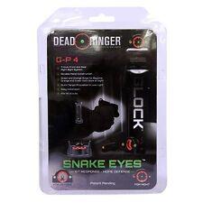 Dead Ringer Snake Eyes Pistol Sight GP 4, Glock, Front and Rear Night Sight