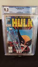 INCREDIBLE HULK #340 CGC 9.2 McFarlane Classic Cover X-Men Appearance Grey Hulk