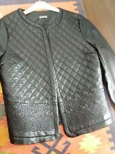 blouson faux cuir noir neuf taille 40