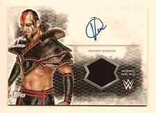 VIKTOR 2015 TOPPS WWE UNDISPUTED AUTHENTIC SHIRT RELIC AUTO