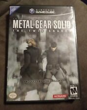 Metal Gear Solid: The Twin Snakes (Nintendo GameCube) COMPLETE Tested FAST SHIP