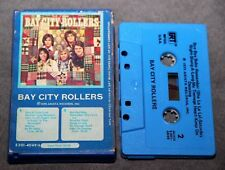 The Bay City Rollers: Self-Titled. CASSETTE. Early edition. Snapcase SNAP CASE