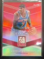 Carmelo Anthony 2014-15 Elite Red Parallel #21/25 #44 Knicks Blazers Nuggets M8