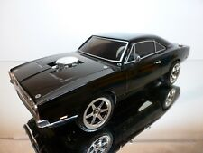 NIKKO 160313DODGE CHARGER - FAST & the FURIOUS - BLACK L30.0cm RC 27MHz  - GOOD