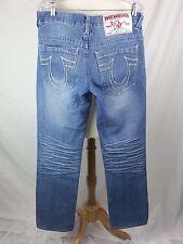 True Religion Men's Denim Jeans Billy 32 Cotton USA 34 x 33