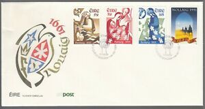 Ireland 1991 FDC Christmas Issue