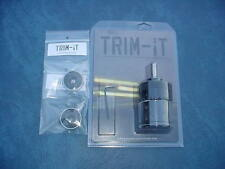 Trim-It Case Trimmer w/ two Caliber Inserts 308 .223 . New in the box