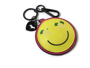 Victoria's Secret Keychain Mirror Happy Face Dog Logo Emoji